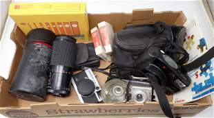 Vintage Cameras and Lens