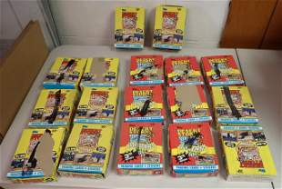 17 Boxes of Desert Storm Trading Cards