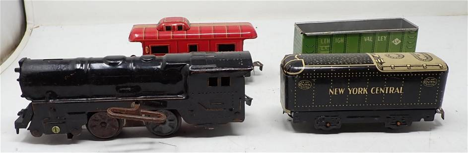 Tin Marx Wind Up Train