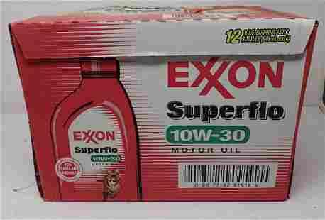 Case of Exxon Suplerflo 10W-30 Oil