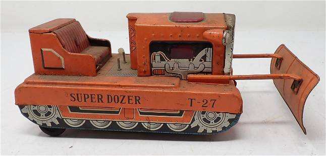 T-27 Super Dozer Battery Operated Toy