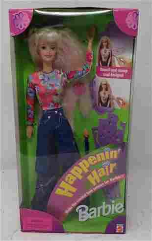 1998 Happenin Hair Barbie Doll