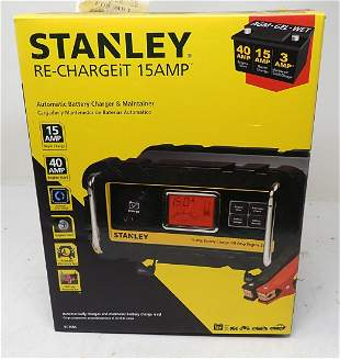 Stanley Re-Chargeit 15amp Battery Charger Maintainer