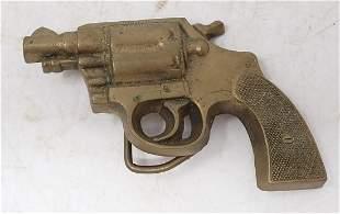 1979 Baron Brass Pistol Gun Belt Buckle