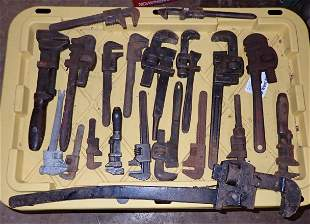 Antique Pipe Wrenches