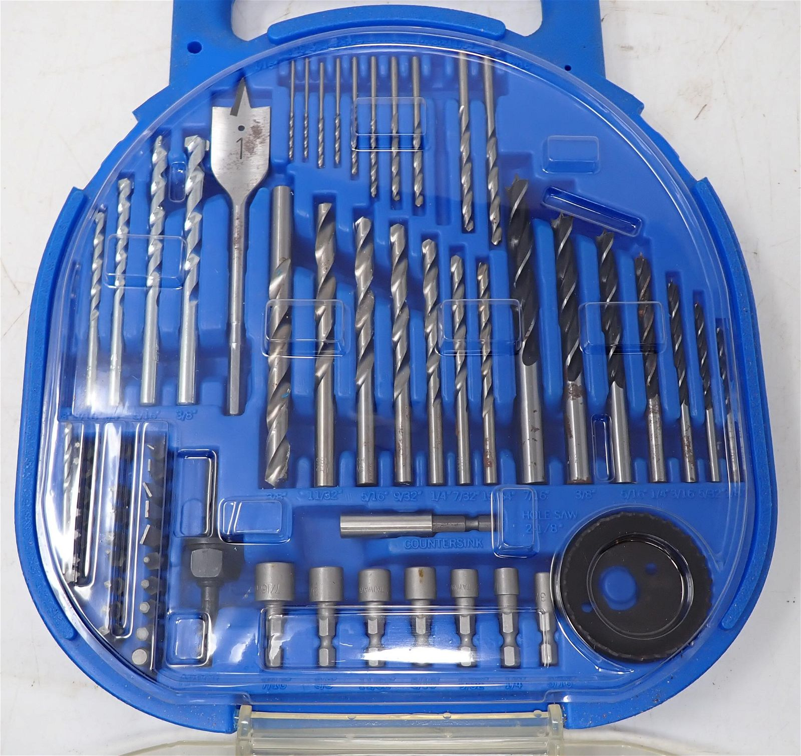 2 Sets of Drill Bits and Drivers