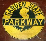 Garden State Parkway Aluminum Sign