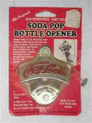 1980 Coca Cola Bottle Opener