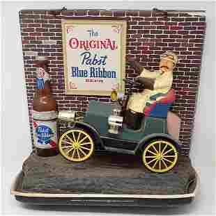 Pabst Blue Ribbon Lighted Sign