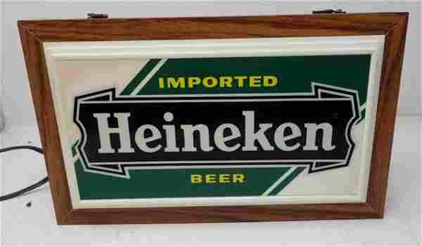 Heineken Lighted Beer Sign