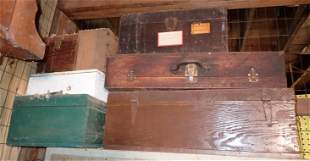 Wood Boxes / Tool Boxes