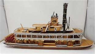 Steamboat Ship Model