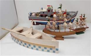 Wooden Ship Boat Models