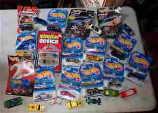 Matchboxes and Hot Wheels