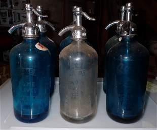 6 Seltzer Bottles