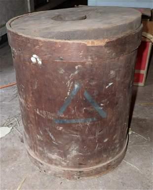 Antique Wood Bucket