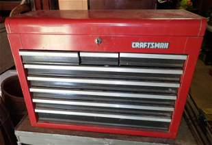 Craftsman Tool Box and Contents