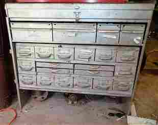 Parts Cabinet and Contents