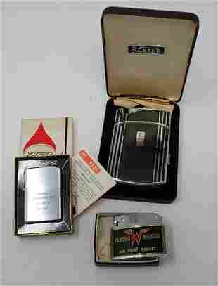 Flying Ranch Airport Zippo Quarry Ronson Lighters