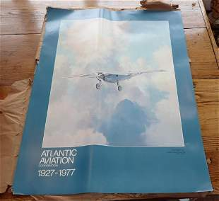 32 Keith Ferris Atlantic Aviation Posters