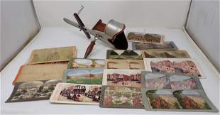 Stereoview Cards & Viewer