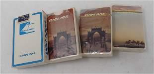 Pan Am Playing Cards