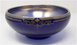Bowl with Silver Overlay 244-8