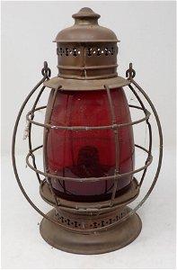 JH Rotman Albany NY Brass Lantern