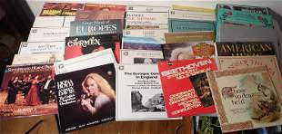 Records incl Rolling Stones