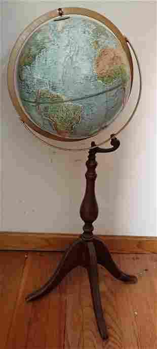 "Replogle Land & Sea 12"" Globe"