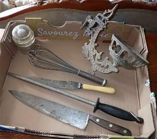 Butcher Knife Sharpener Whisk