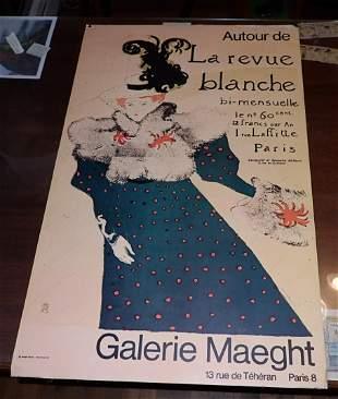 Autour De La revue Blanche Poster