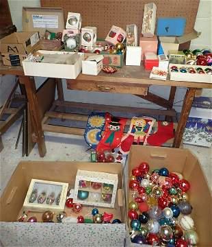 Vintage Christmas Ornaments / Decorations