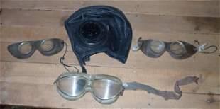 United States Navy Aviation Hat & Goggles