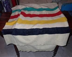 Vintage Hudson Bay LL Bean Blanket