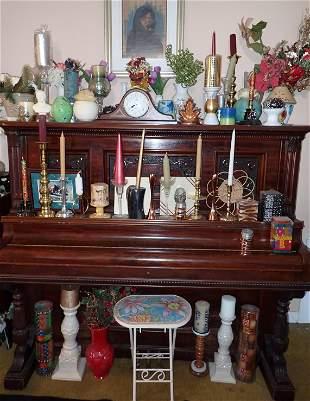 Decorator / Designer Candles Vases Candlesticks & Misc