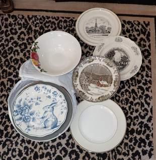 Wedgwood Royal Stafford & Misc Plates