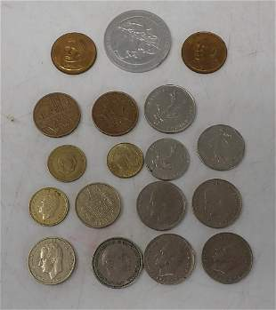 Foreign Coins & Tokens