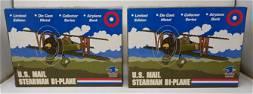 2 US Mail Stearman Bi-Planes