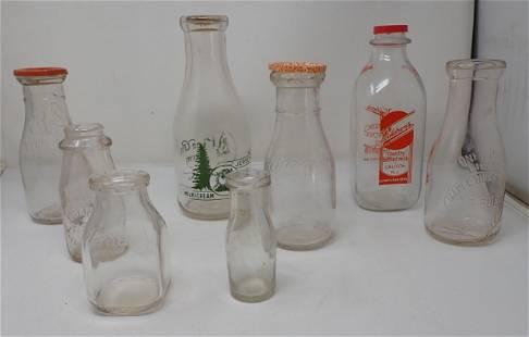 Stockton Califon Flemington NJ Milk Bottles