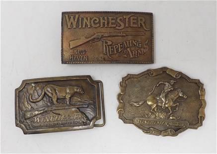 Winchester Belt Buckles