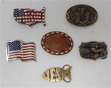 Patriotic & Misc Belt Buckles