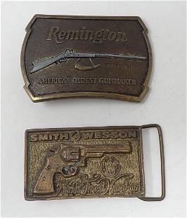 Remington Smith & Wesson Belt Buckles