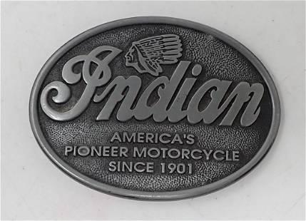 Indian Motorcycle Belt Buckle