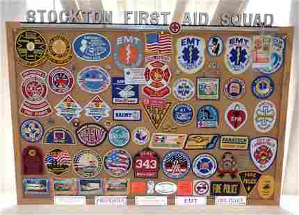 Stockton NJ First Aid Squad Emblem & Patches