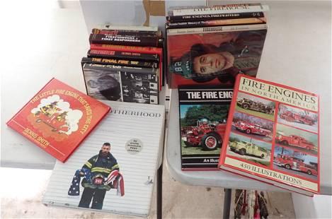 Firehouse Fire Truck Firemen Books