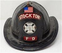 Vintage Stockton NJ Fire Helmet
