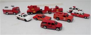 Vintage Matchbox Hot Wheels & Misc Fire Dept Diecast