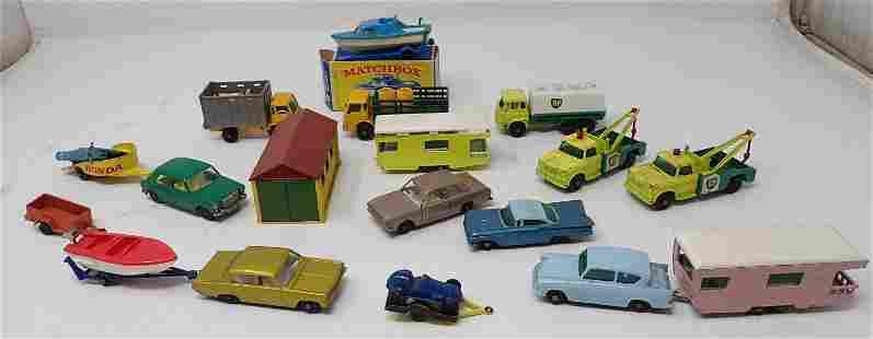 Vintage Matchbox & Tootsietoy Cars