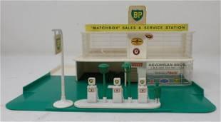 Matchbox BP Gas Station